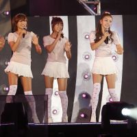 Disappearing trend: South Korean pop group Kara performs onstage during the K-Pop All-Star live concert in Niigata in August. | AP