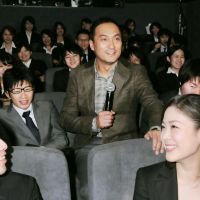 Taste maker: Actor Ken Watanabe, seen here at an event for the film 'Hayabusa,' is often described as being shibui, meaning he has an aura of refined masculinity. | KYODO