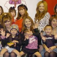 Yummy mommies: A group of gyaru mama (gal moms) gather at an event to promote traditional New Year's cooking among young women. | KYODO