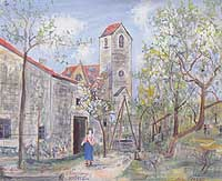 The intoxication of Maurice Utrillo