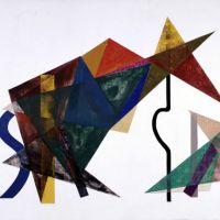 Animal tension: 'Spannung' (1938) by Ryobun Yamaoka fuses the abstract with the figurative. | COURTESY OF THE NATIONAL MUSEUM OF MODERN ART, KYOTO