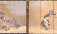 Controlled artistry: 'Pine Trees in the Snow' (undated), National Treasure, by Maruyama Okyo | MITSUI MEMORIAL MUSEUM