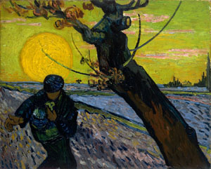'The Sower' (1888) by Vincent Van Gogh | © VAN GOGH MUSEUM, AMSTERDAM (VINCENT VAN GOGH FOUNDATION)