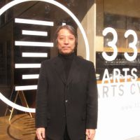Outsider insight: Shigeo Goto stands outside the 3331 Arts Chiyoda center, the venue for the first Tokyo Frontline art fair. | JAE LEE PHOTO