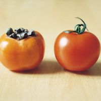 Spot the difference: 'Kaki and Tomato' (2008) by Shimabuku. | COURTESY OF THE NATIONAL MUSEUM OF ART, OSAKA