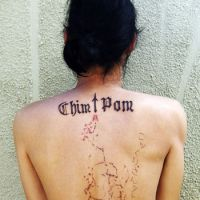 The strange and beautiful: Chim&#8593;Pom's 'KOKKURISAN TATTOO' ('Ouijaboard Tattoo' 2008). | &#169; 2008 CHIM&#8593;POM COURTESY OF MUJIN-TO PRODUCTION, TOKYO
