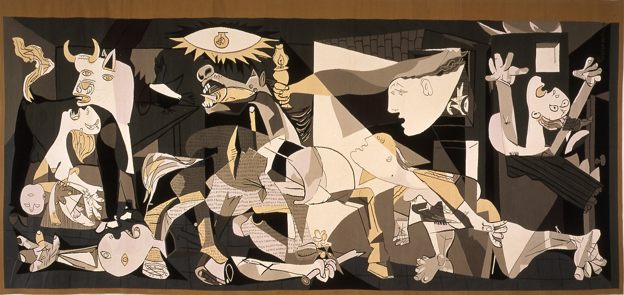 Picasso 39 s guernica tapestry and other collections for Mural guernica