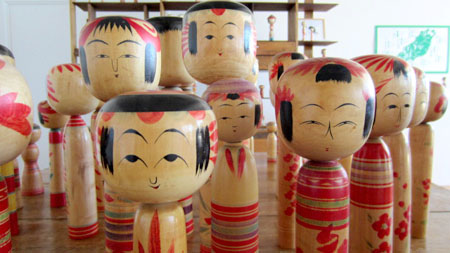 'Kokeshi Doll Exhibition'
