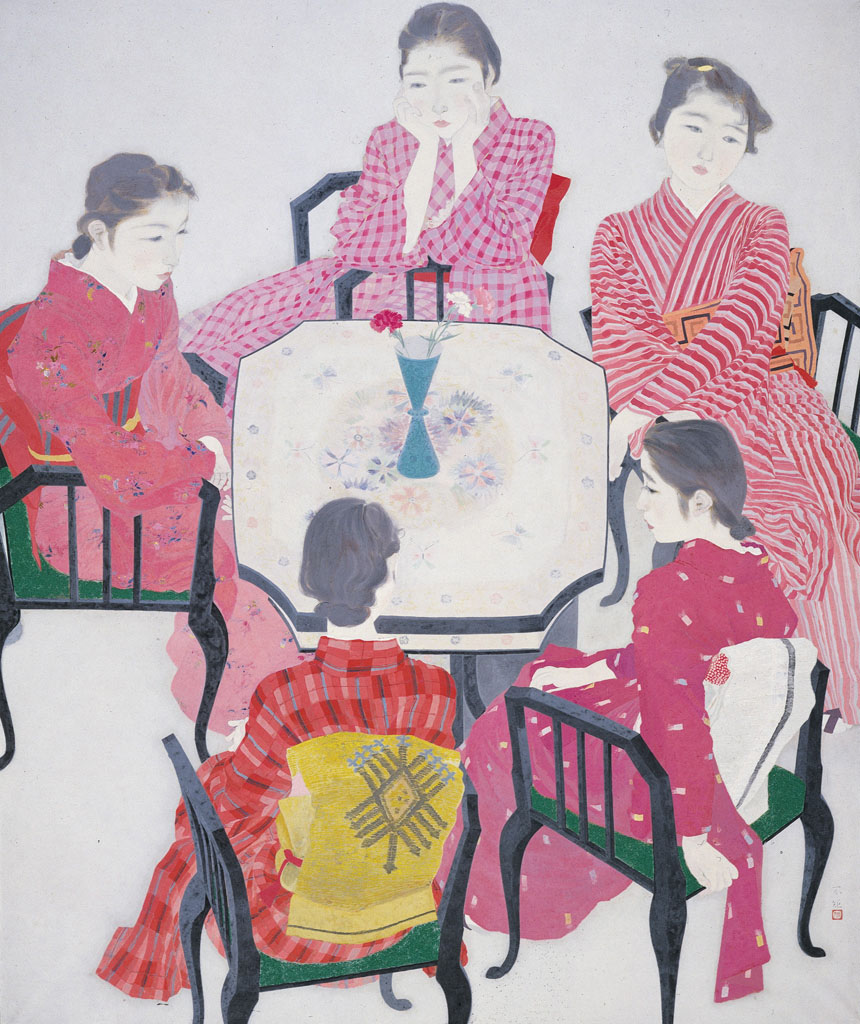 'Red Clothes' by Akino Fuku (1938) KYOTO | MUNICIPAL MUSEUM OF ART