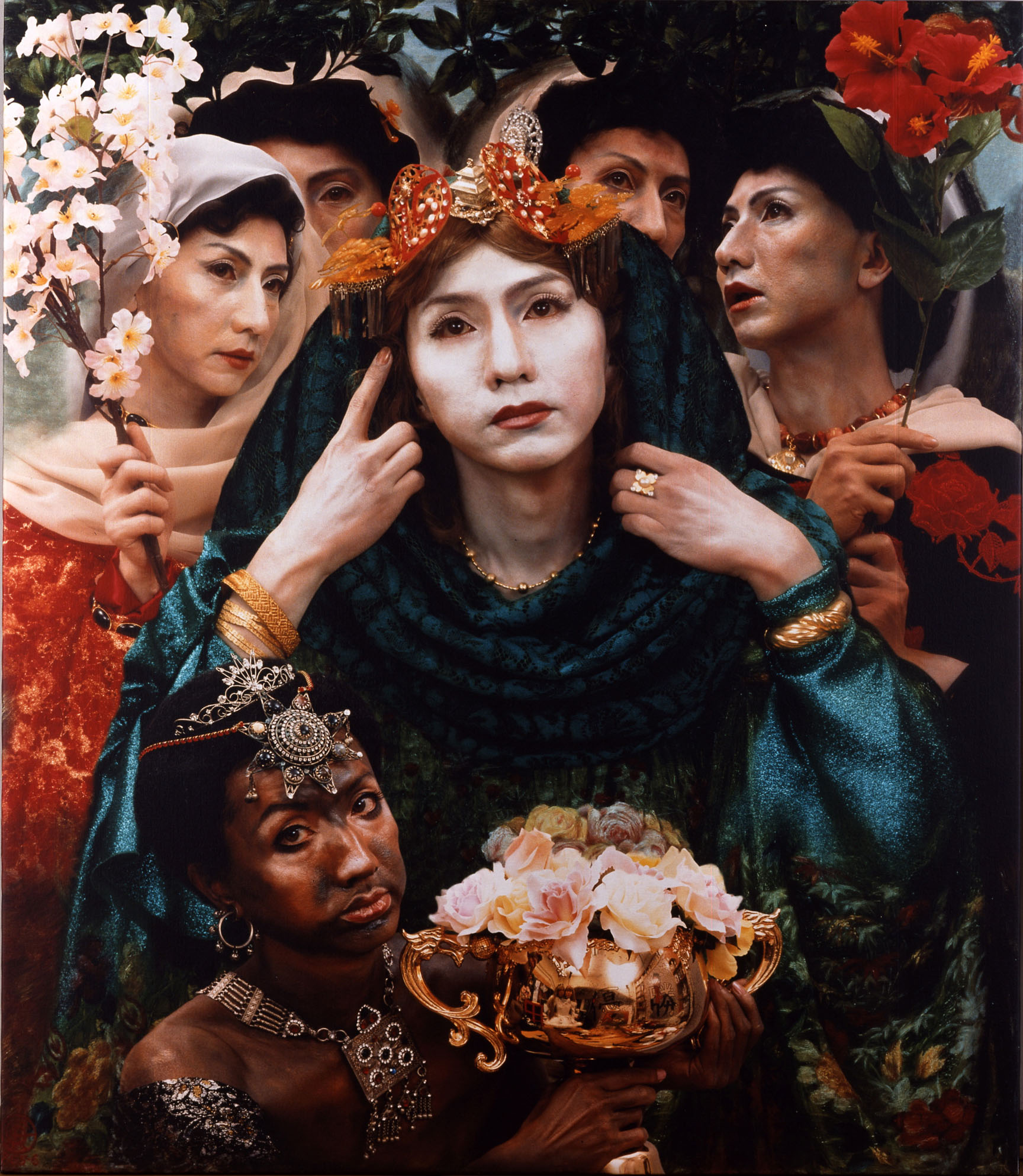 'Six Brides' (1991) by Yasumasa Morimura | THE MUSEUM OF MODERN ART, SHIGA