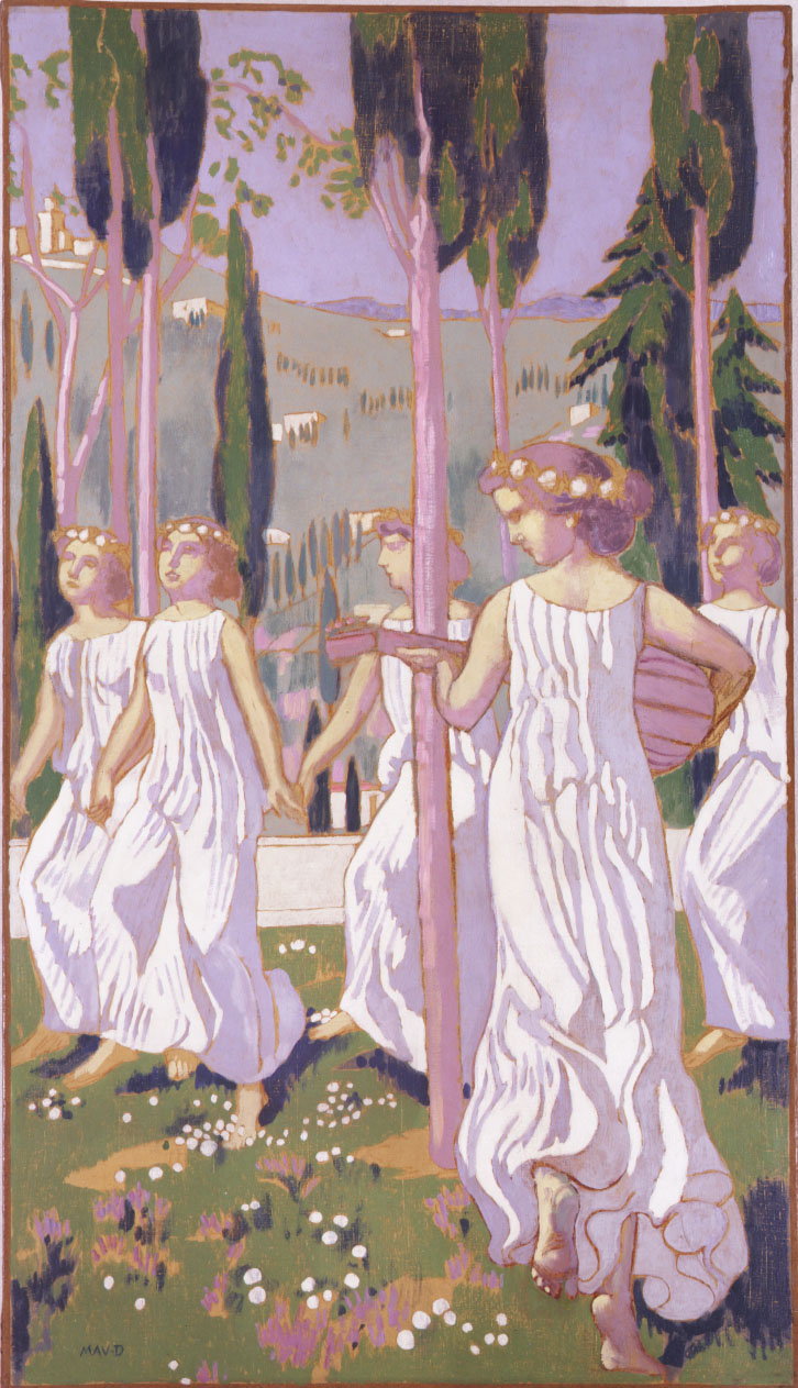 'Dance' (1905) by Maurice Denis | MENARD ART MUSEUM