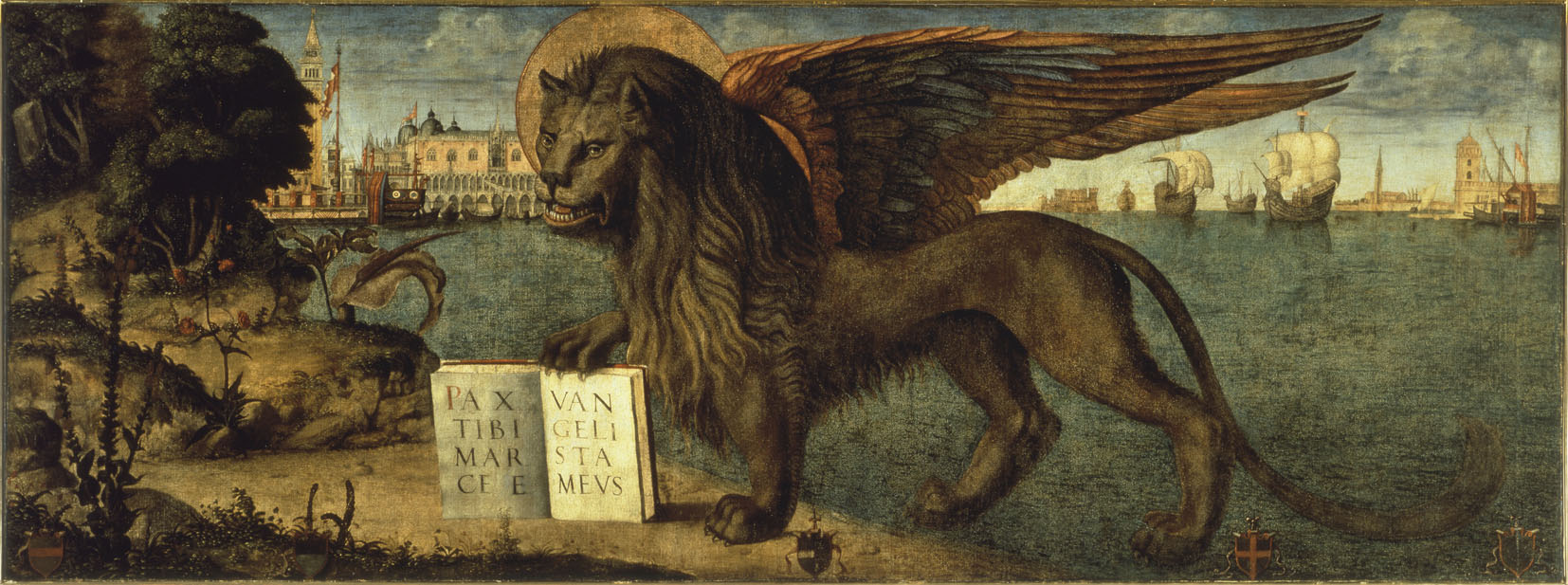 'The Lion of St. Mark' by Vittore Carpaccio (1516), The Doge's Palace. | © FONDAZIONE MUSEI CIVICI DI VENEZIA