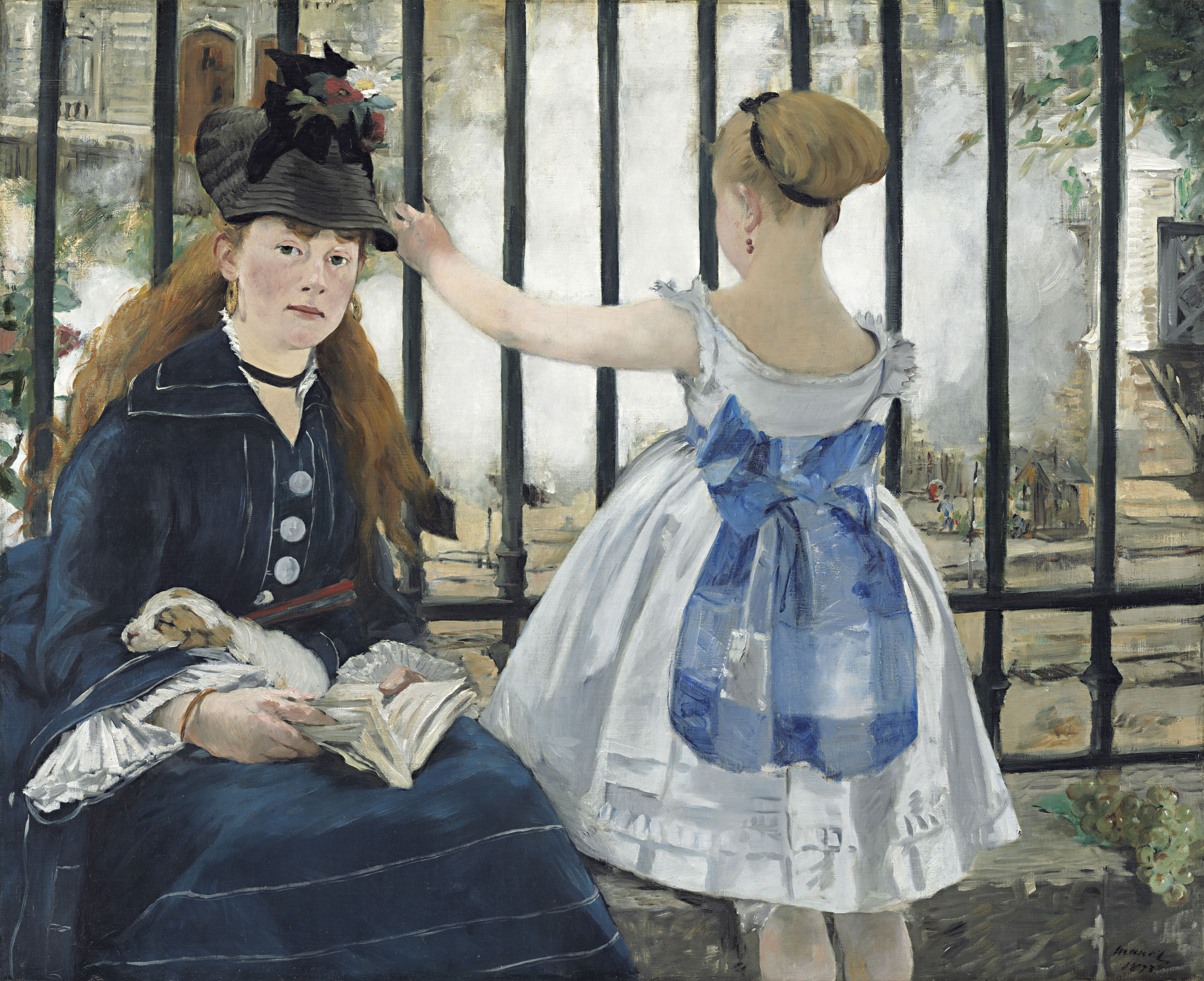 'The Railway' (1873) by Edouard Manet
