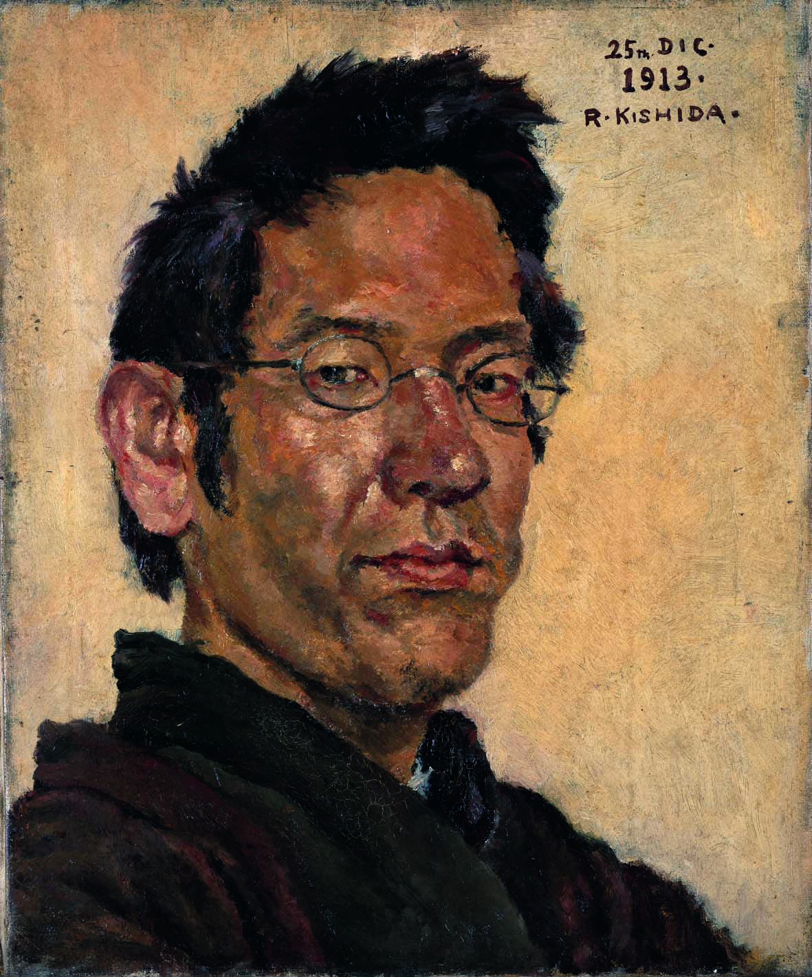 'Self-portrait' (1923) by Ryusei Kishida | TOYOTA MUNICIPALMUSEUM OF ART
