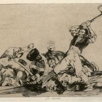 The dark side: Francisco de Goya's 'The Disasters of War: #3 The Same' (1810-14). | TOKYO NATIONAL MUSEUM OF ART