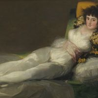 Left to the imagination: Francisco de Goya's 'Clothed Maja' (1800-07). | ARCHIVO FOTOGRAFICO, MUSEO NACIONAL DEL PRADO MADRID