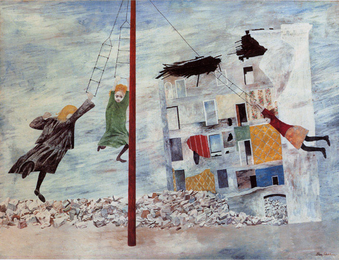 'Liberation' by Ben Shahn | THE MUSEUM OF MODERN ART, NEW YORK JAMES THRALL SOBY BEQUEST 1249. 1979, (C) ESTATE OF BEN SHAHN/VAGA, NEW YORK & SPDA, TOKYO, 2011