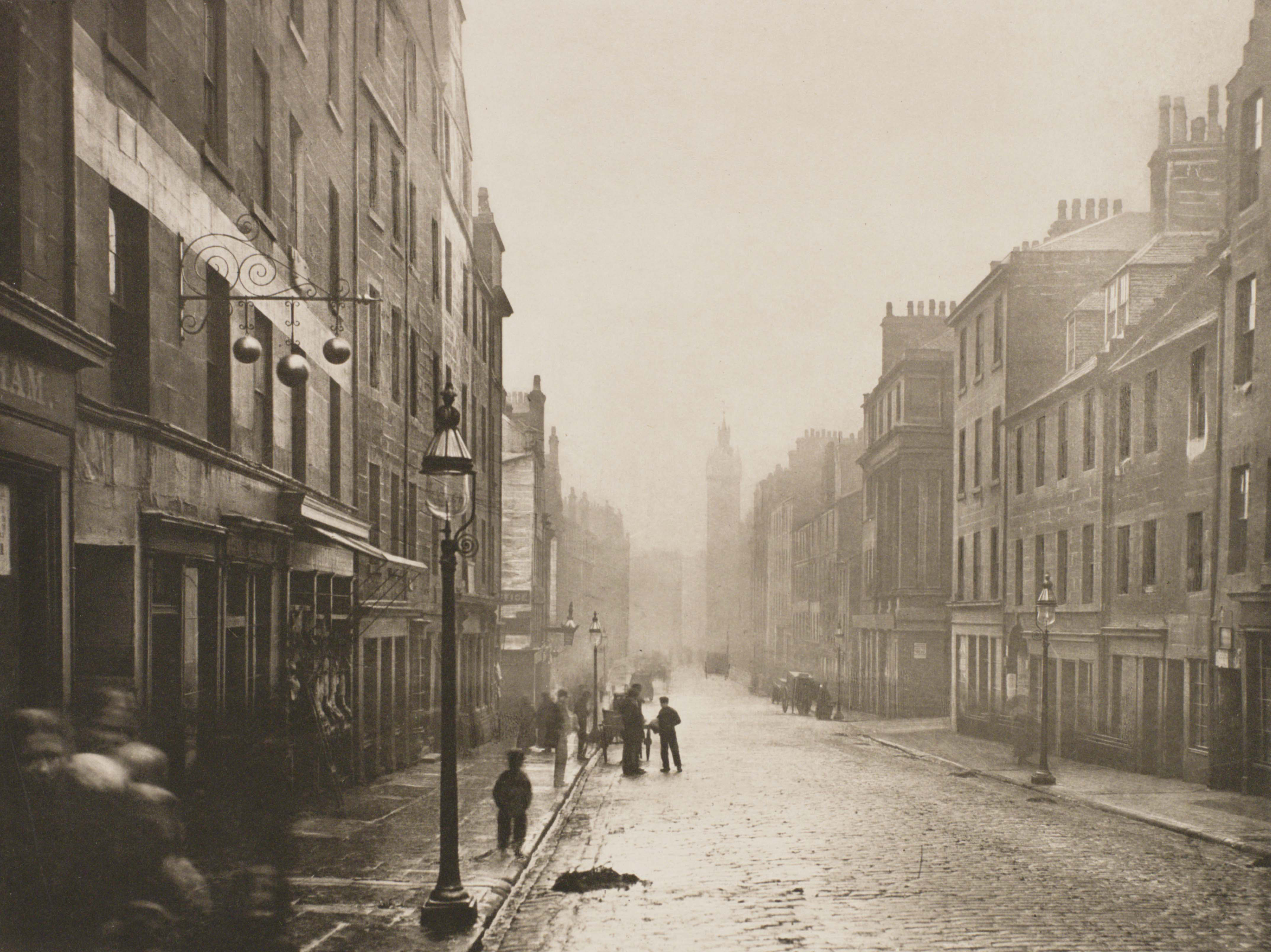 'The Old Closes and Streets of Glasgow' (1868) by Thomas Annan
