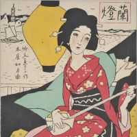 Painting a picture of Yumeji Takehisa