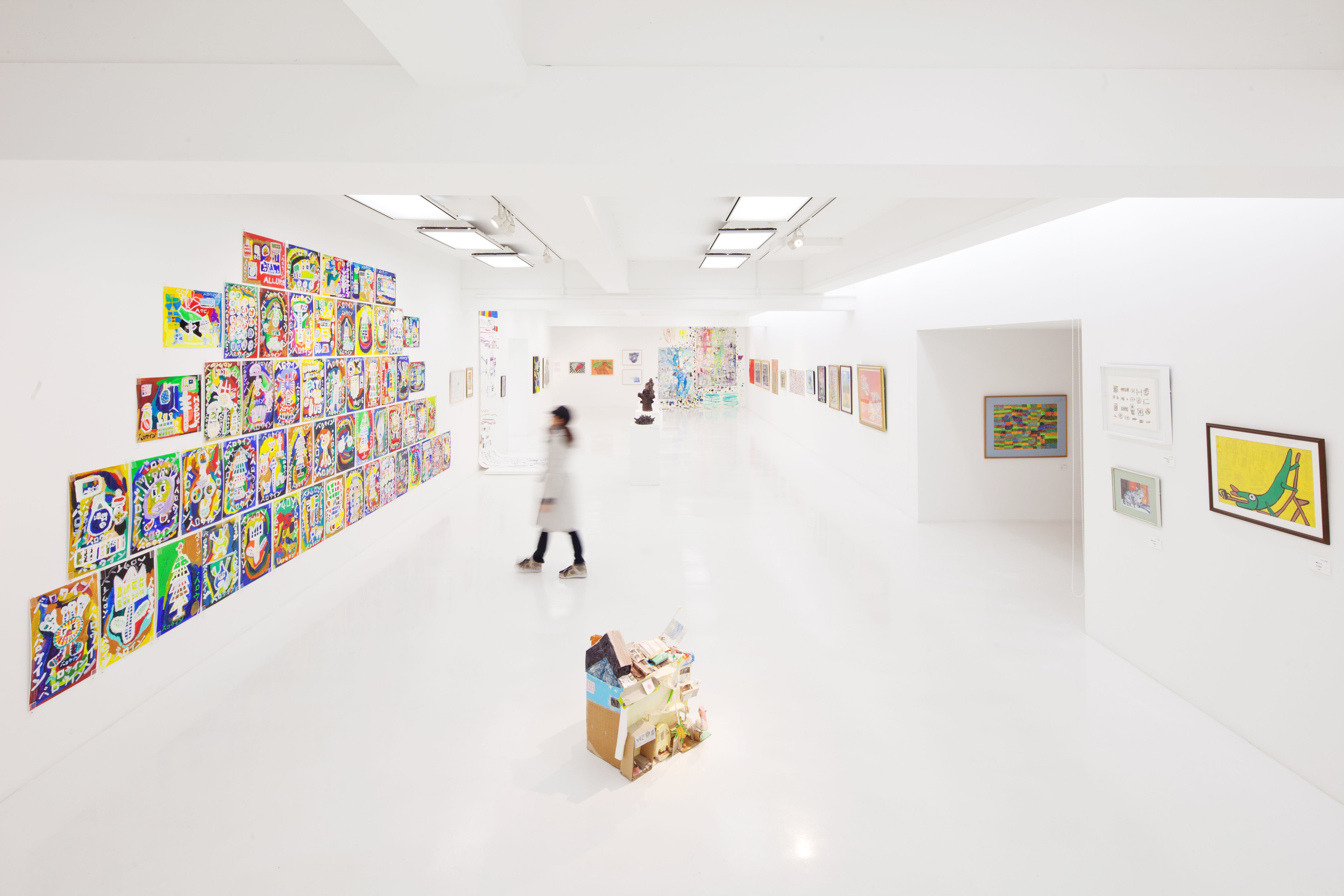 An installation view of 'POCORART' at 3331Arts Chiyoda | COURTESY OF 3331ARTS CHIYODA