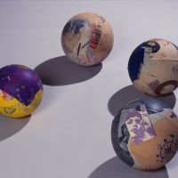 'Printed Balls' (1971) by Takako Araki | OTANI MEMORIAL ARTMUSEUM, NISHINOMIYA CITY