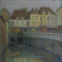On reflection: 'Le Canal, Amiens' (1901) | PRIVATE COLLECTION; PHOTO © YVES LE SIDANER