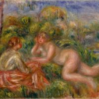'After the Bath' (1915) by Pierre Auguste Renoir | POLA MUSEUM OF ART