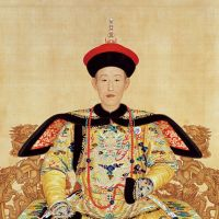 Royal attire: 'Portrait of Emperor Qian Long in Court Dress' (Qing Dynasty, dated 1736; Qianlong 1). | COLLECTION OF THE PALACE MUSEUM, BEIJING, CHINA