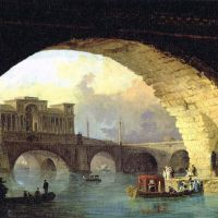 Celebrating the Classical: 'The Triumphal Bridge' (1782-83) by Hubert Robert | MUSEE DE VALENCE