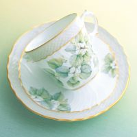 'Linden Tree' coffee cup and saucer.
