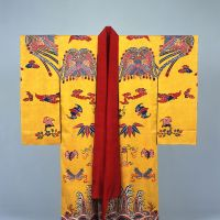 A bingata costume, a designated national treasure, (18th-19th century) | NAHA CITY MUSEUM OF HISTORY