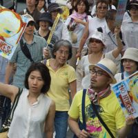 Nara's 'No Nukes Girl' joins the protesters