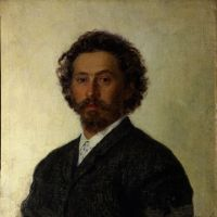 'Self-portrait' (1887) by Ilya Repin. | © THE STATE TRETYAKOV GALLERY