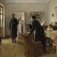 'They Did Not Expect Him' (1884-1888) | © THE STATE TRETYAKOV GALLERY