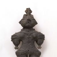 'Goggle-eyed dogū ,' an Important Cultural Property (c. 1000 BC) | TOKYO NATIONAL MUSEUM