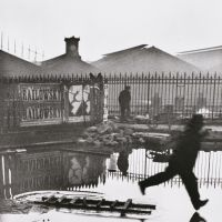 Henri Cartier-Bresson's 'Behind the Gare St.Lazare, Paris' (1932)