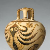 Stirrup jar with octopus (c. 1200-1100 B.C.) | PURCHASE, LOUISE ELDRIDGE MCBURNEY GIFT, 1953, © THE METROPOLITAN MUSEUM OF ART