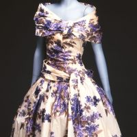 Cocktail dress (1955) by Christian Dior | KOBE FASHION MUSEUM