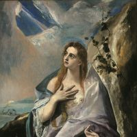 El Greco's 'Saint Mary Magdalene in Penitence' (c.1576) | © MUSEUM OF FINE ARTS, BUDAPEST