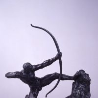 'Hercules the Archer (Study),' Emile-Antoine Bourdelle (1909) | © NORIHIRO UENO, THE NATIONAL MUSEUM OF WESTERN ART