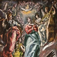 'The Immaculate Conception' (1607-13) | ESCORIAL