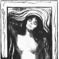 Edvard Munch's 'Madonna' (1895)