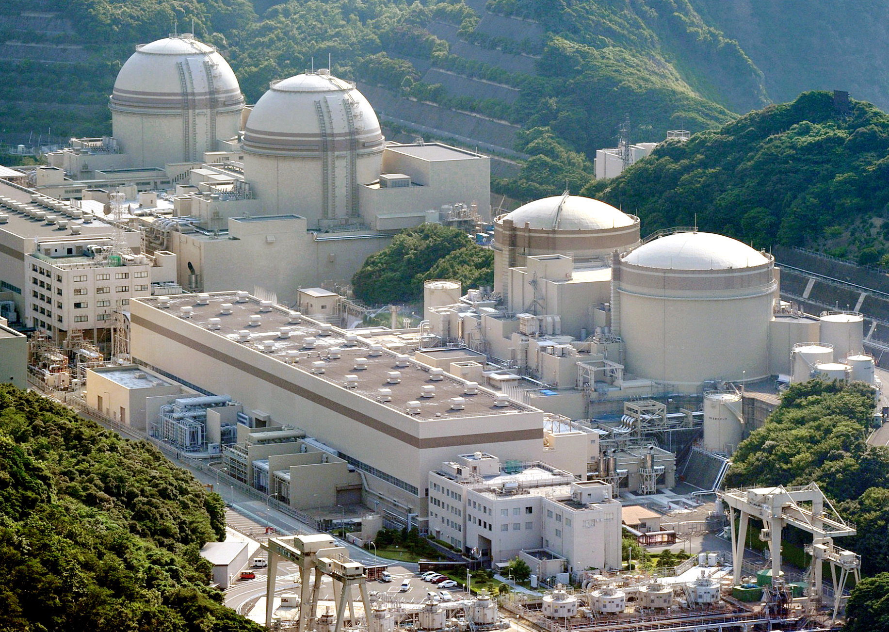 Starting gun: Kepco's nuclear power plant in Oi, Fukui Prefecture. | KYODO