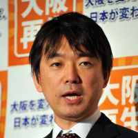 Right or wrong: Osaka Mayor Toru Hashimoto who many feel may one day be prime minister of Japan. | AFP-JIJI
