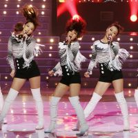 Just want to dance: K-Pop group KARA has reportedly tried to distance themselves from the territorial dispute, pleasing their Japanese fans but angering some South Koreans. | KYODO