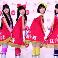 Channel surfing: Momoiro Clover Z will play NHK's 'Kohaku Uta Gassen,' but unfortunately Sachiko Kobayashi (below) will not. | KYODO