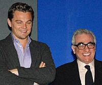 Leonardo Dicaprio and Martin Scorsese in Tokyo recently to promote 'The Departed' | YOSHIAKI MIURA PHOTO