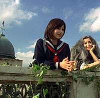 Maki Horikita (left) and Kyoka Suzuki in 'Argentine Baba' | (c)2006