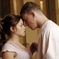 Channing Tatum and Jenna Dewan in 'Step Up.' | (c)2006 SUMMIT ENTERTAINMENT N.V. ALL RIGHTS RESERVED