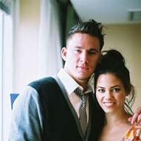 Channing Tatum and Jenna Dewan cut the carpet in 'Step Up.' | KAORI SHOJI PHOTO